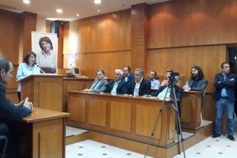 """Γεωργία Ζεμπιλιάδου: """"Δέσμευση μου, οι τηλεθερμάνσεις θα συνεχίσουν να λειτουργούν και οι μετεγκαταστάσεις Ακρινής & Αναργύρων θα γίνουν"""""""