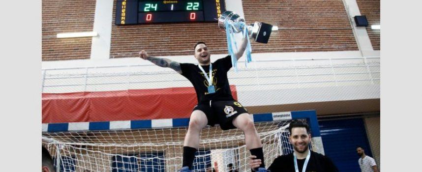 H AEK κυπελλούχος Ελλάδας στο κλειστό της Λευκόβρυσης