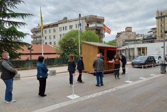 Κοζάνη: Αρνητικά όλα τα rapid tests για covid 19 στην κεντρική πλατεία