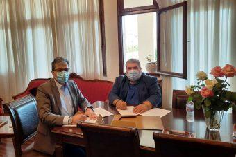 Συνάντηση Δημάρχου Εορδαίας με τον Πρύτανη του Πανεπιστημίου Δυτικής Μακεδονίας. Υπογραφή Μνημονίου Συνεργασίας