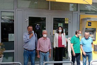 Καλλιόπη Βέττα – Ν.Ε. ΣΥΡΙΖΑ Π.Σ. Κοζάνης: Το κλείσιμο των τραπεζικών καταστημάτων στην ΠΕ Κοζάνης αποδεικνύει, για μια ακόμη φορά, την πλήρη αδιαφορία της κυβέρνησης για την στήριξη της περιοχή