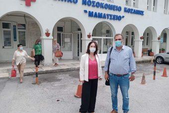 «Καλλιόπη Βέττα: Τα νοσοκομεία της Π.Ε. Κοζάνης πλήττονται από την υποστελέχωση και τις αθρόες αποχωρήσεις υγειονομικών στελεχών»