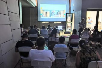 """Ξεκίνησαν οι κινηματογραφικές προβολές στην Κοβεντάρειο Δημοτική Βιβλιοθήκη- Συνέχεια σήμερα με τους """"Άθλιους"""""""